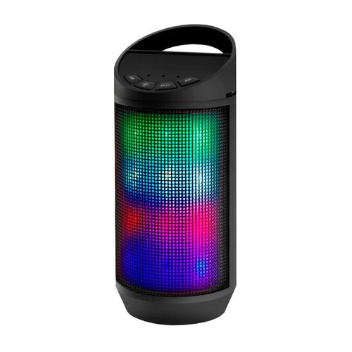 Колонка Ginzzu Bluetooth GM-999G 3W/TF/USB/AUX/FM/цветомузыка фото