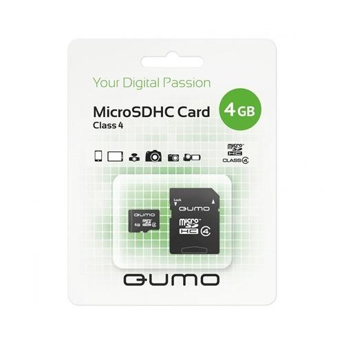 Карта памяти Qumo microSD 2GB (class 4) фото