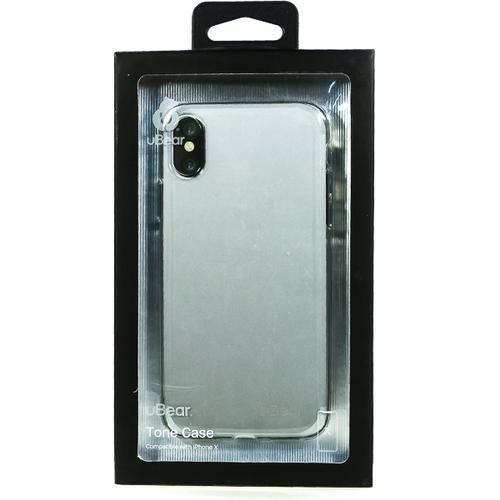Накладка силиконовая uBear Laser Tone Case iPhone X Clear фото