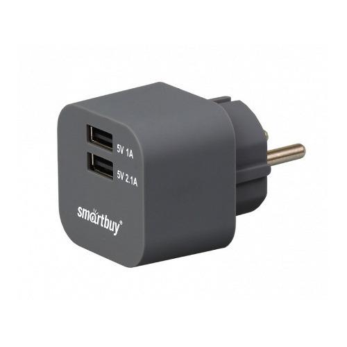 Сетевое зарядное устройство Smartbuy Volt на 2USB 3.1A SPB-2100 фото