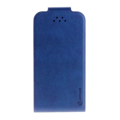 """Чехол-флип Anycase Flip Fold M универсальный (4.3""""-5.5"""") Blue фото"""