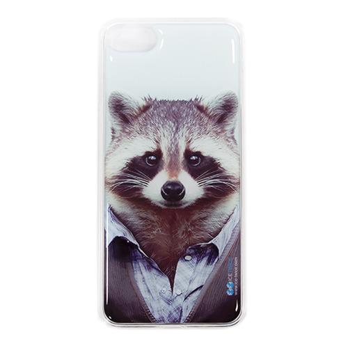 Накладка силиконовая IceTwice iPhone 7 / iPhone 8 Енот №986 фото