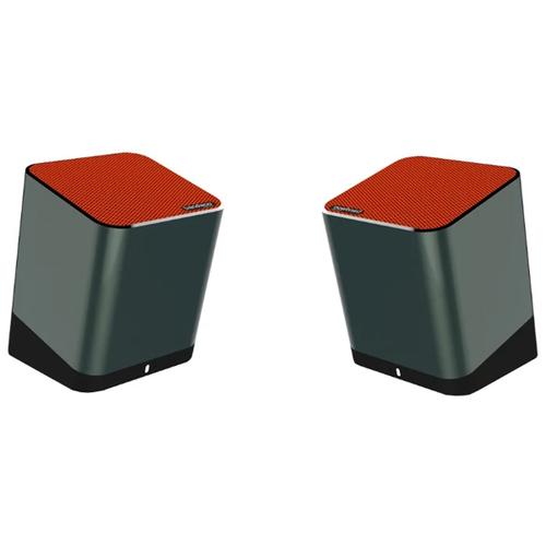 Колонка Trendwoo Bluetooth Twins 2*5 Вт Orange/Grey фото
