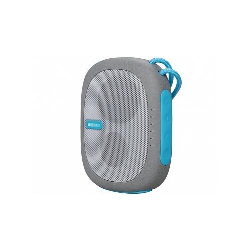 Колонка и внешний аккумулятор InterStep SBS-260 (Bluetooth, micro SD) 2600 mAh Blue фото