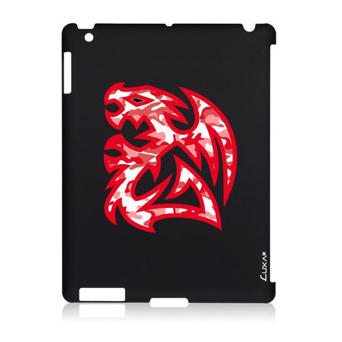 Накладка пластиковая Luxa2 iPad 2/3/4 Tough Battle Dragon черный фото