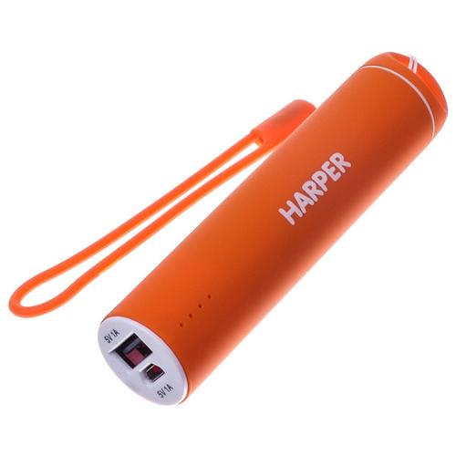 Внешний аккумулятор Harper PB-2602 2200 mAh Orange фото