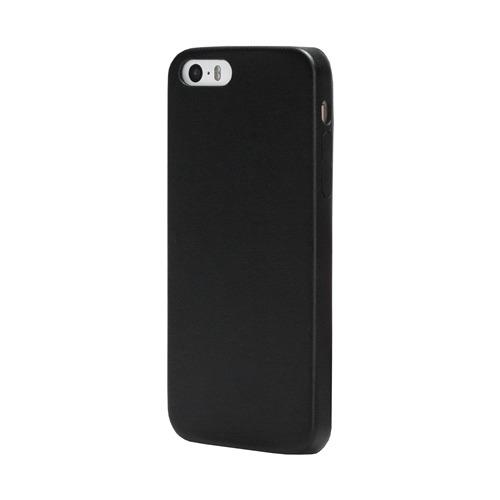Накладка кожаная uBear iPhone 5/5S/SE Coast Case Black фото