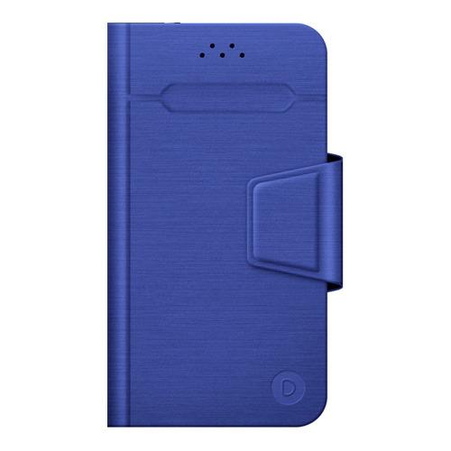 """Чехол - книжка Deppa Wallet Fold L универсальный (5.5""""-6.5"""") Blue фото"""