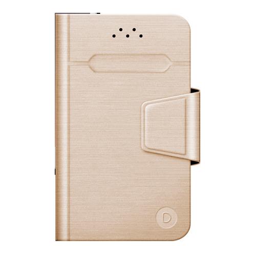 """Чехол - книжка Deppa Wallet Fold S универсальный (3.5""""-4.3"""") Gold фото"""