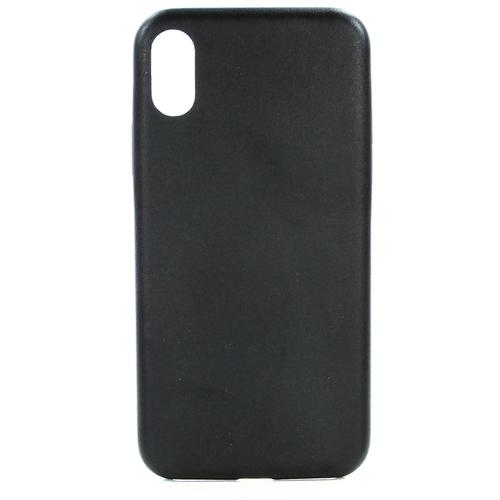Накладка кожаная uBear iPhone X Coast Case Black фото