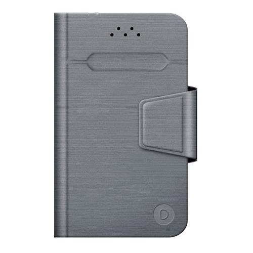 """Чехол - книжка Deppa Wallet Fold M универсальный (4.3""""-5.5"""") Grey фото"""
