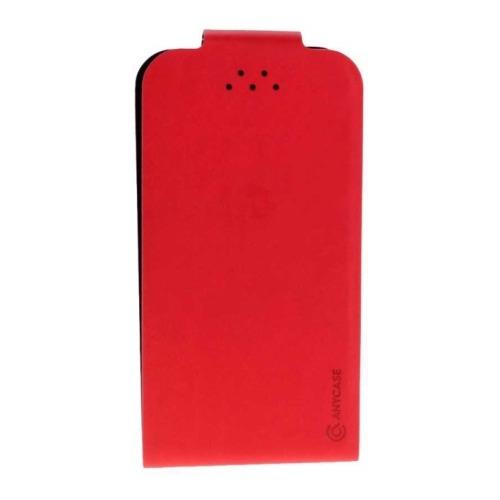 """Чехол-флип Anycase Flip Fold M универсальный (4.3""""-5.5"""") Red фото"""