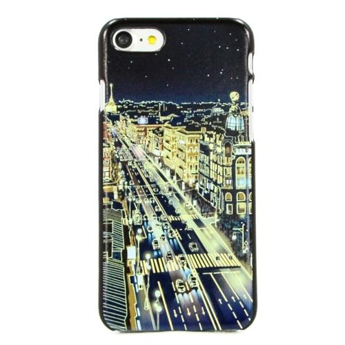 """Накладка пластиковая HAPPYTIME iPhone 7 / iPhone 8 """"Невский проспект ночью"""" фото"""