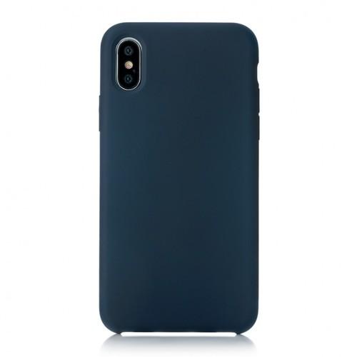 Накладка силиконовая uBear Touch Case iPhone X Blue фото