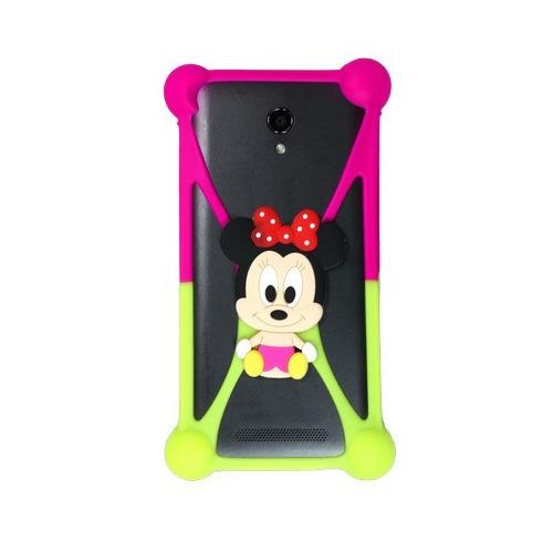 """Бампер Partner силиконовый универсальный 3.5""""-5.5"""" Minnie Mouse #4 фото"""