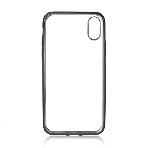 Накладка силиконовая uBear Frame Tone Case iPhone X Black фото