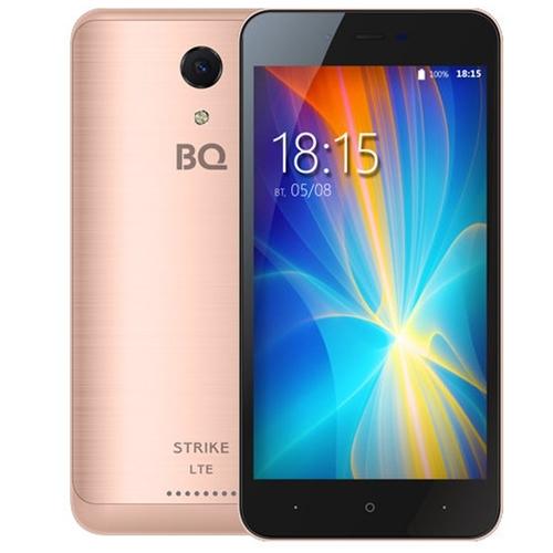 Телефон BQ BQS-5044 Strike LTE Rose Gold Brushed фото