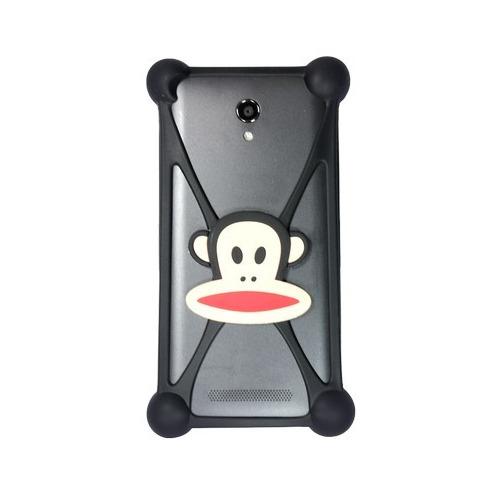 """Бампер Partner силиконовый универсальный 3.5-5.5"""" Monkey #7 фото"""