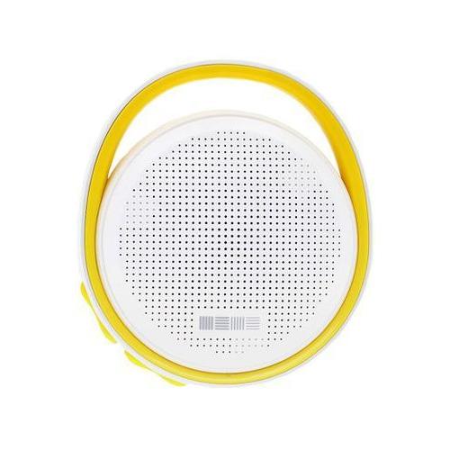 Колонка InterStep SBS-100 (Bluetooth,micro SD) White/Yellow фото